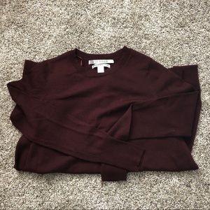 Max Studio merino wool sweater dress